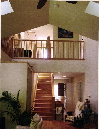 2-Story add ons and custom built oak staircases